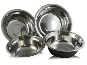 Checkered Chef Stainless Steel Mixing Bowls