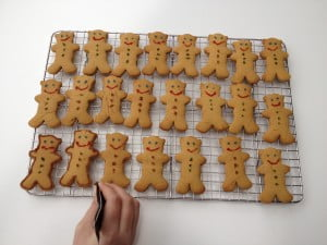Plenty of space for a whole crowd of gingerbread men