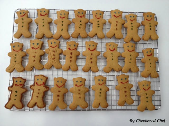 The Easiest Gingerbread Men You Will Ever Make