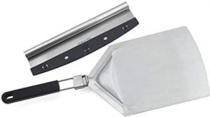 Pizza Cutter And Pizza Peel Set
